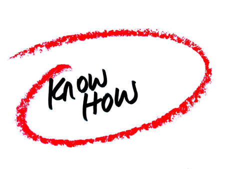 knowhow: knowhow Stock Photo