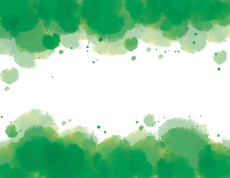 copyspace: Watercolor background in green with copyspace