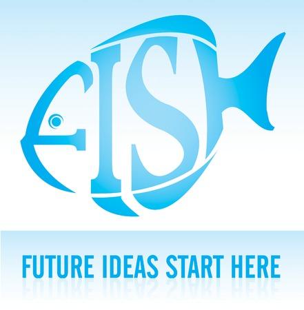 FISH - Future Ideas Start Here Illustration