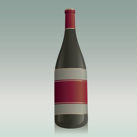 Generic Wine Bottle