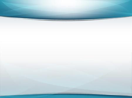 fondos azules: Fondo moderno presentación brillante con espacio para copiar, fotos y más Vectores