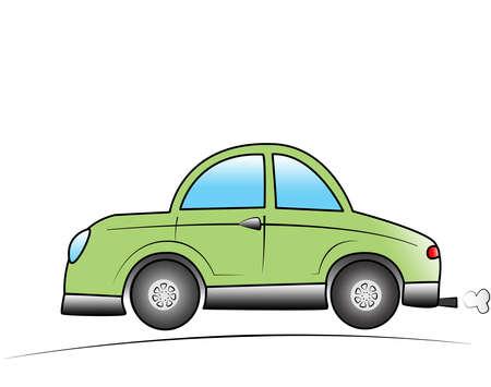 cartoon car photo
