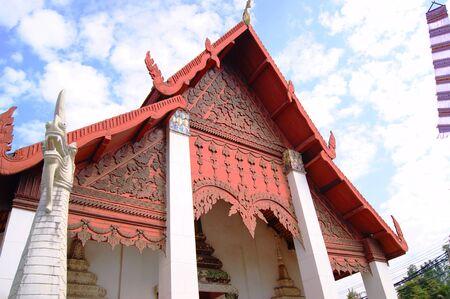 lanna: Lanna temple of Nan Stock Photo