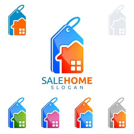 apartment search: sale home , real estate , home, house vector  design