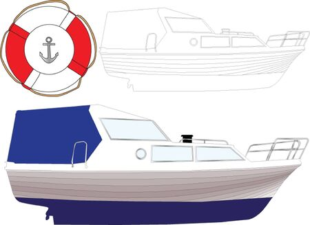 boat 3 - vector Stock Vector - 14799151