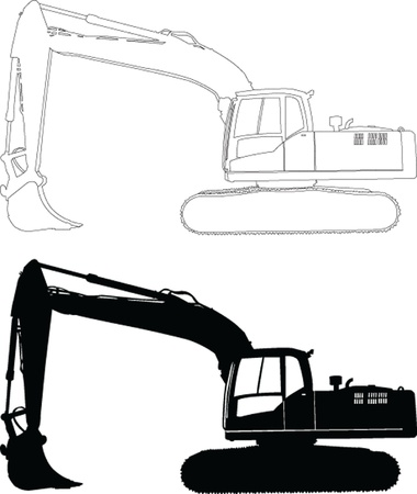 11,691 Excavator Stock Illustrations, Cliparts And Royalty Free ...