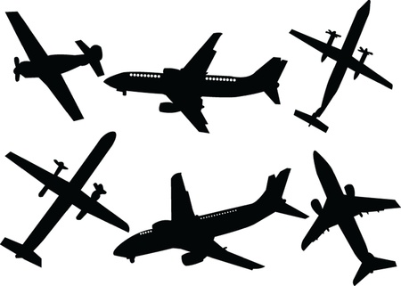 airplane Stock Vector - 14854081