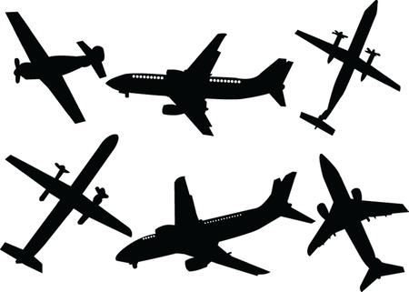 airplane Stock Vector - 14854081