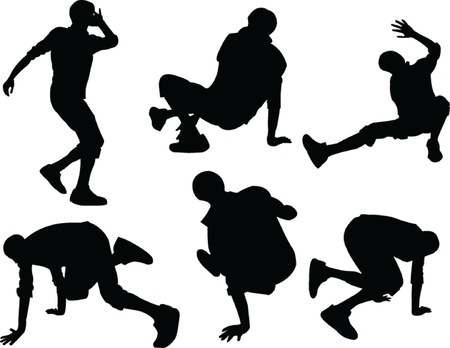 breakdance - vector Stock Vector - 14850110