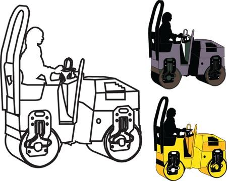 steamroller: roller