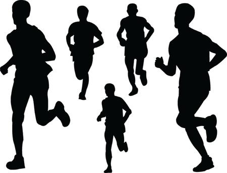 running people 2 Illustration