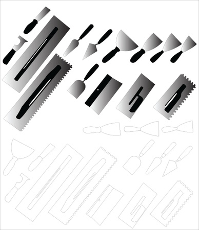 tools for painting 2 Vector