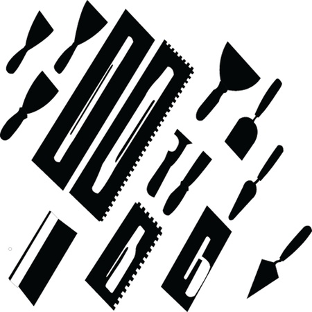tools for painting Illustration