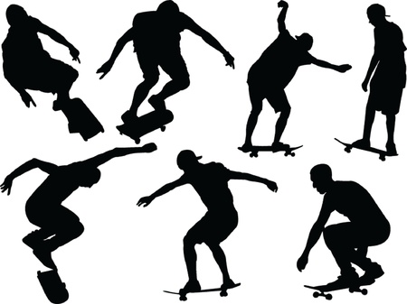 skateboard - vector Stock Vector - 21700324