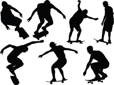 skateboard - vector Stock Vector - 21700324