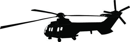 helicopter - vector Stock Vector - 21700325