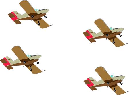 항공기 형성