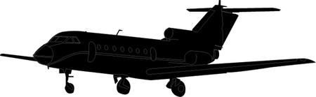 비행기 실루엣