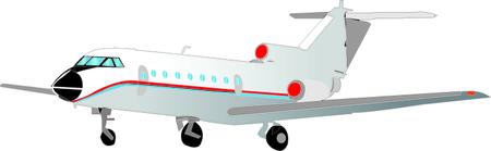 arrive: airplane