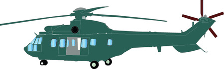sikorsky: helicopter illustration