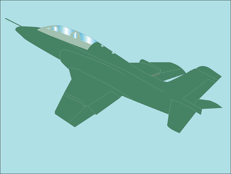 airplane - vector Illustration