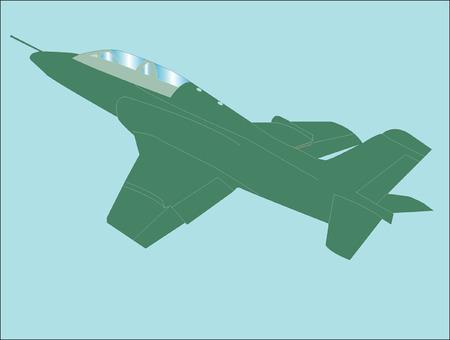 airplane - vector Vectores