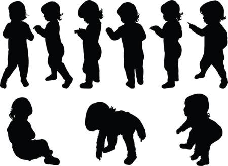 children collection  Vector