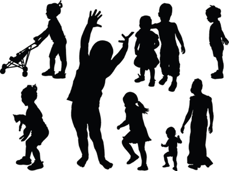 children collection  Vector