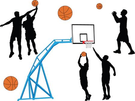 basketball - vector Vectores