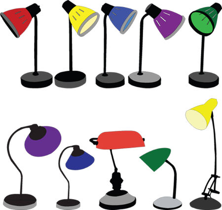 lamps collection  Illustration