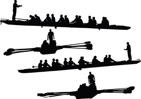 rowings 컬렉션 - 벡터