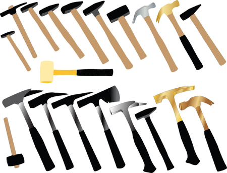 hammer collection - vector