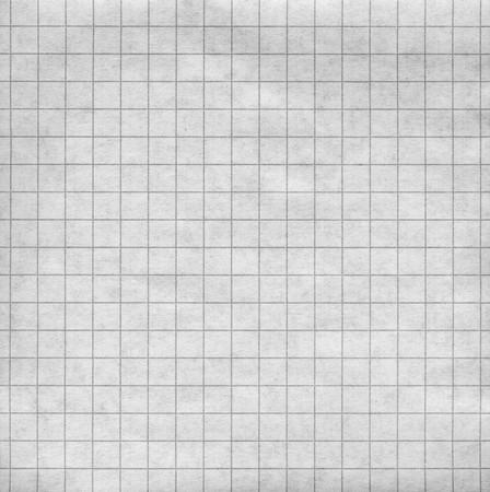 grid: Bianche di un foglio di carta con una griglia grigio