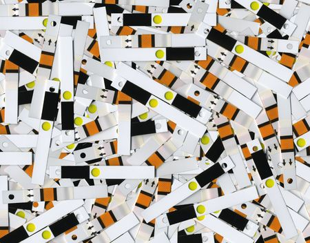 inject: Unused test strips for the analysis of blood glucose