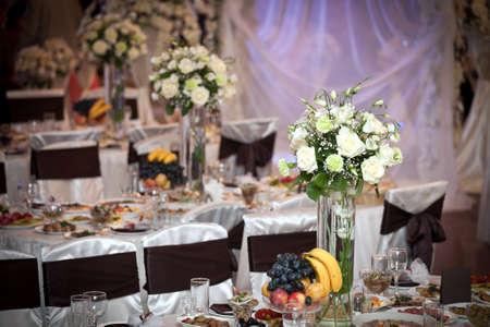 festive table setting Imagens