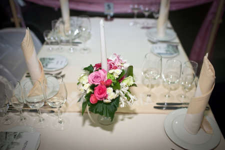 festive table setting, wedding accessories