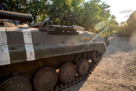 trophy, War actions aftermath, Ukraine and Donbass conflict, captured military equipment of the Ukrainian armed forces