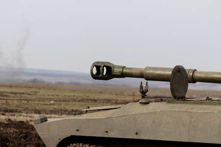 barrel self-propelled artillery, large caliber self-propelled gun.