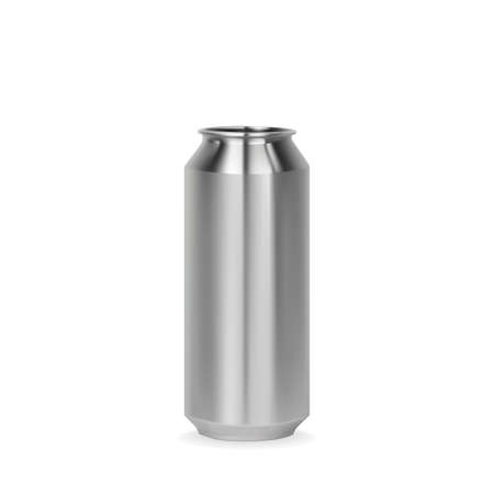 Aluminum can template Illustration