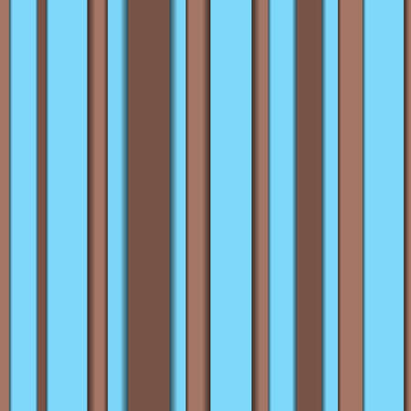 Vertical stripes in different shades alternating turquoise and brown. Ideal for a background