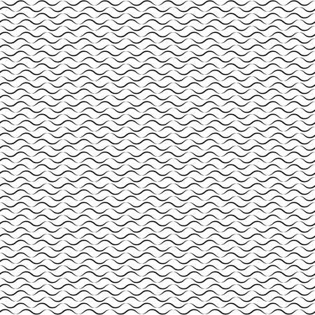 carpet clean: Vector seamless pattern. Modern stylish texture with wavy stripes. Geometric abstract background.