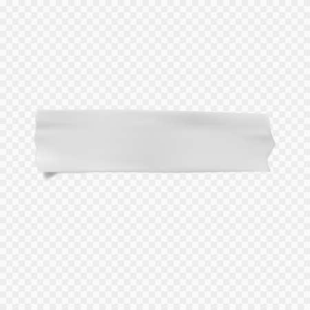 벡터 접착 테이프 투명 배경에 stucky