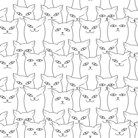 cat 308 wiring diagram database Cat 272D XHP seamless funny cats pattern with different emotions gray and used cat 308 excavator cat 308