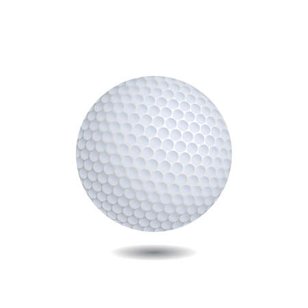 golf ball vector realistic illustration royalty free cliparts