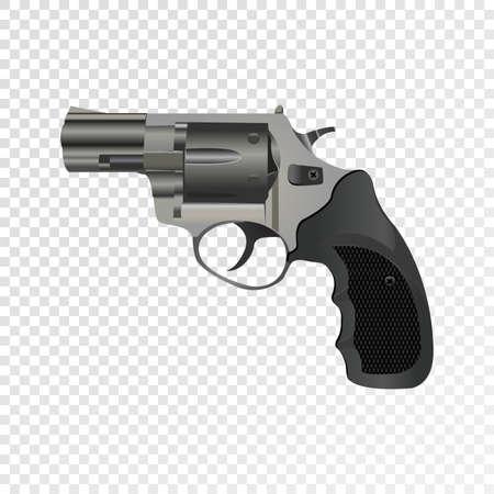 Revolver de modèle vectoriel. Revo Eps10