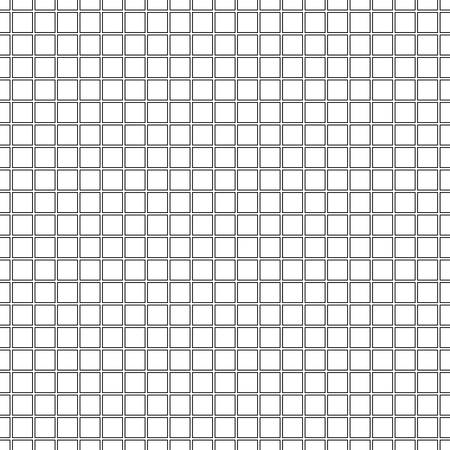 Seamless black and white gridded background. Vector eps10.