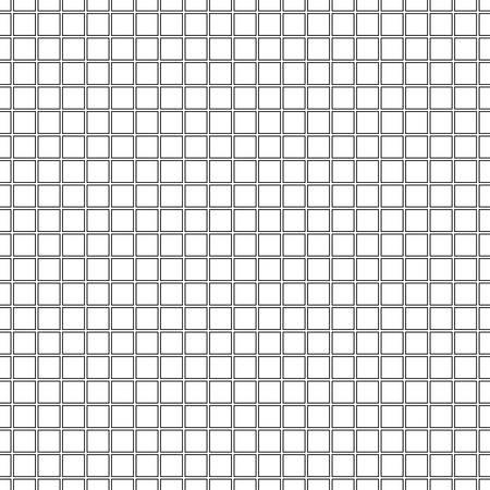 Seamless black and white gridded background. Vector eps10. Ilustración de vector