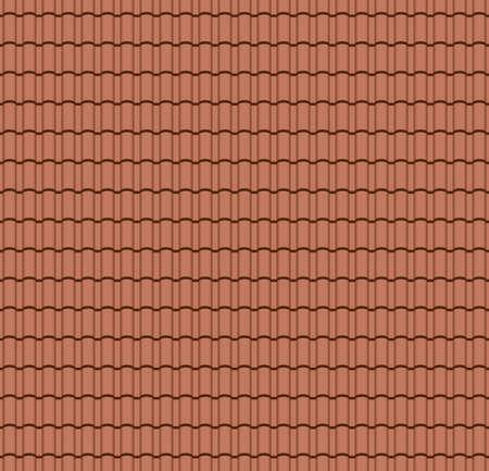 Modèle sans couture de tuile de toit pour la couverture de maison. Illustration vectorielle eps10 Vecteurs