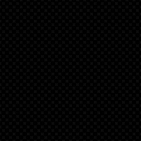 Vector minimalist seamless pattern with tiny dots, cross shapes, shape. Delicate black geometric texture. Subtle minimal background. Ilustrace