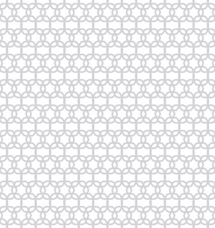Abstract pattern in Arabian style. Seamless simple vector background. Grey and white texture. Graphic modern pattern. Ilustrace